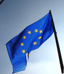 Europe Flag (fdecomite) Tags: blue yellow vent star europe european flag drapeau europeen flotter fasseyer