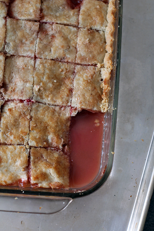 Apple-Rhubarb Pandowdy