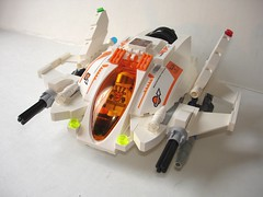 Mars Mission XHAF-17 - flight mode, front 3/4 (borgador17) Tags: fighter lego space moc marsmission