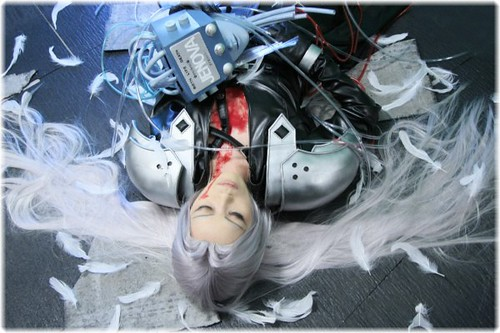 Final Fantasy Sephiroth Foto Cosplay