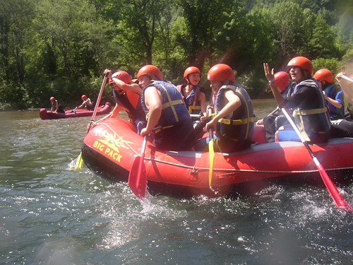 Rafting za mlade