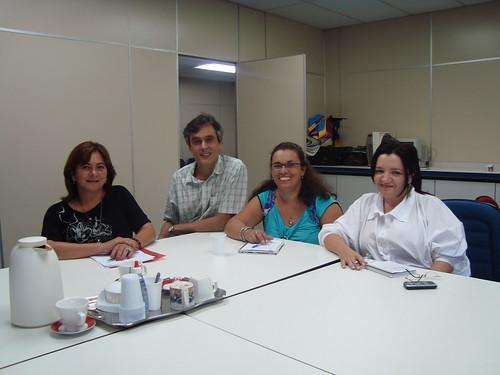 foto dos editores da RHS em capacitação na Escola do Futuro da USP