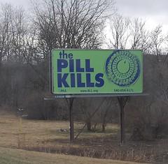 Pill Kills billboard