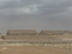 blowing sand 2 (spotzilla) Tags: newmexico blowingsand redflagwarning