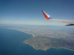 Southwest Winglet Over Palos Verdes
