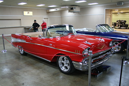 Hunters Auto Expo Car Show 2009 Preview 1957 Chevy Convertible