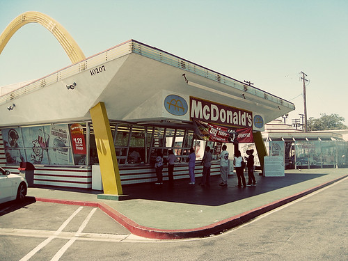 oldest operating McDonald's in Downey, C by singamelodie, on Flickr