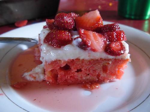 Spring Berry Cake