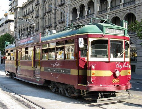 Melbourne City Circle Tram by Dean-Melbourne.