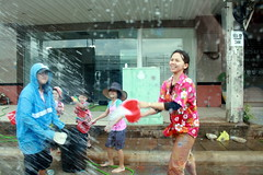 Songkran Water Fun