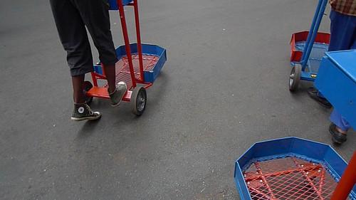 riding trolleys