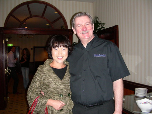 Bruce with Sylvia from CareerOne'