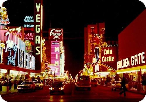 Fremont Street, Las Vegas, 1977