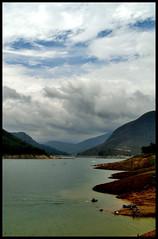 Lago y nubes (Kevin Vsquez) Tags: honda lago la venezuela andes leonardo represa turismo campamento presa pineda ruiz montaas trampa estado municipio tachira potosi complejo caparo hidroelectrico uribante