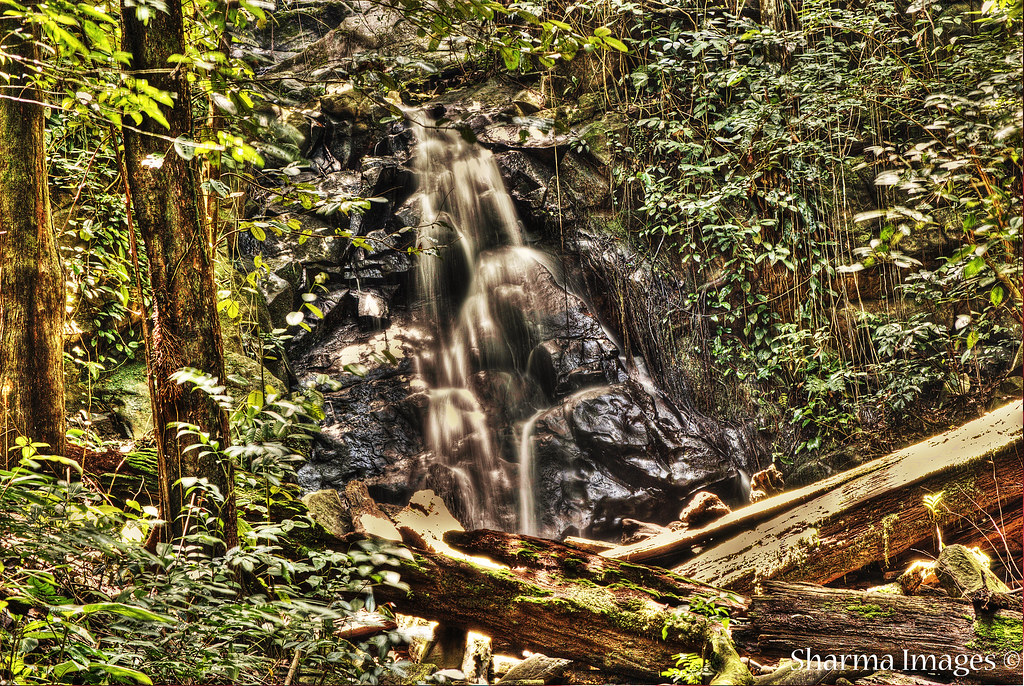 Kawang Waterfall in HDR