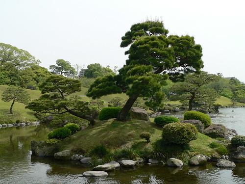 Eine anderer japanischer Landschaftsgarten