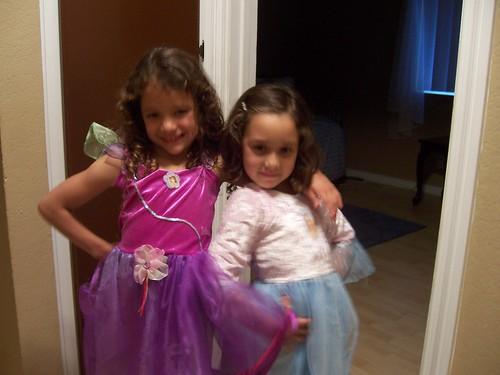 the girls love posing