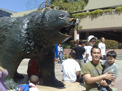 jon and jarron with the bruin