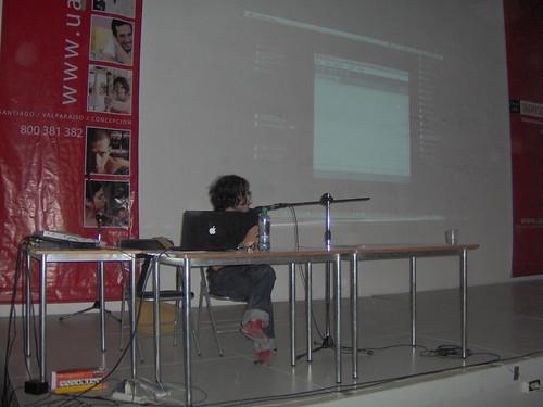 Charla Flisol santiago 2009