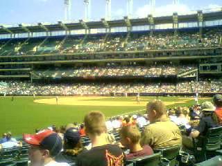 Twins vs. Indians 4/26/09