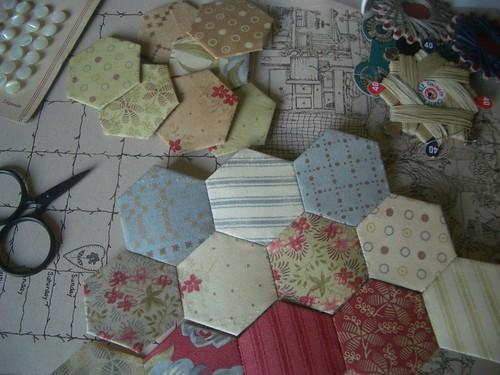 hexagones par vous