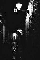 Barcelona III (paola furlan) Tags: barcelona blackandwhite bw art architecture night photography fineart espana catalunya barcellona spagna paolafurlan notturnebiancoenero