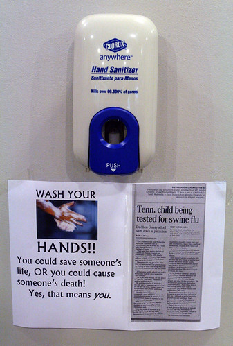 WASH YOUR HANDS! You could same someone's life, OR you could cause someone's death. Yes, that means you.