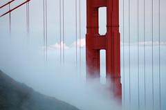 Fog & Clouds over the GGB (Pixelboy H28) Tags: sf sanfrancisco ca bridge usa cali fog clouds canon eos spring marin goldengatebridge bayarea 2009 ggb llens 5dmkii canon5dmarkii canon1004004556lisusm originaldifferent
