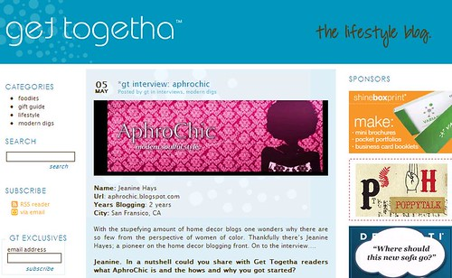 interview w/ aphrochic on get togetha
