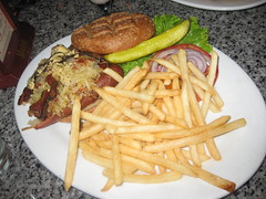 Burgar Bar in Las Vegas - Hot dog burger
