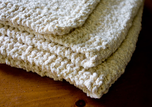 Cotton Ball Baby Blanket