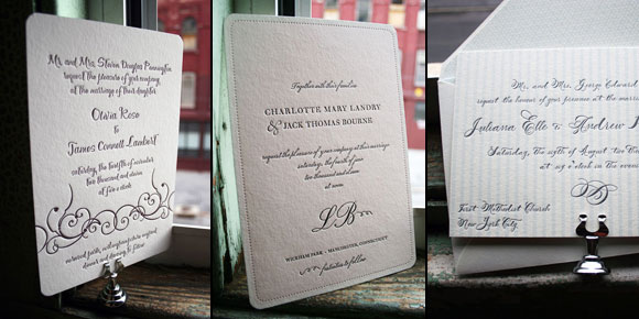 New Smock Wedding Designs for 2009 National Stationery Show