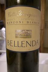 2004 Bellenda Manzoni Bianco Colli Trevigiani
