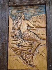 γοργόνα ατενίζουσα το πελαγος- mermaid wacthing the sea