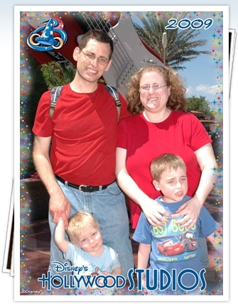 Family at Disney Studios