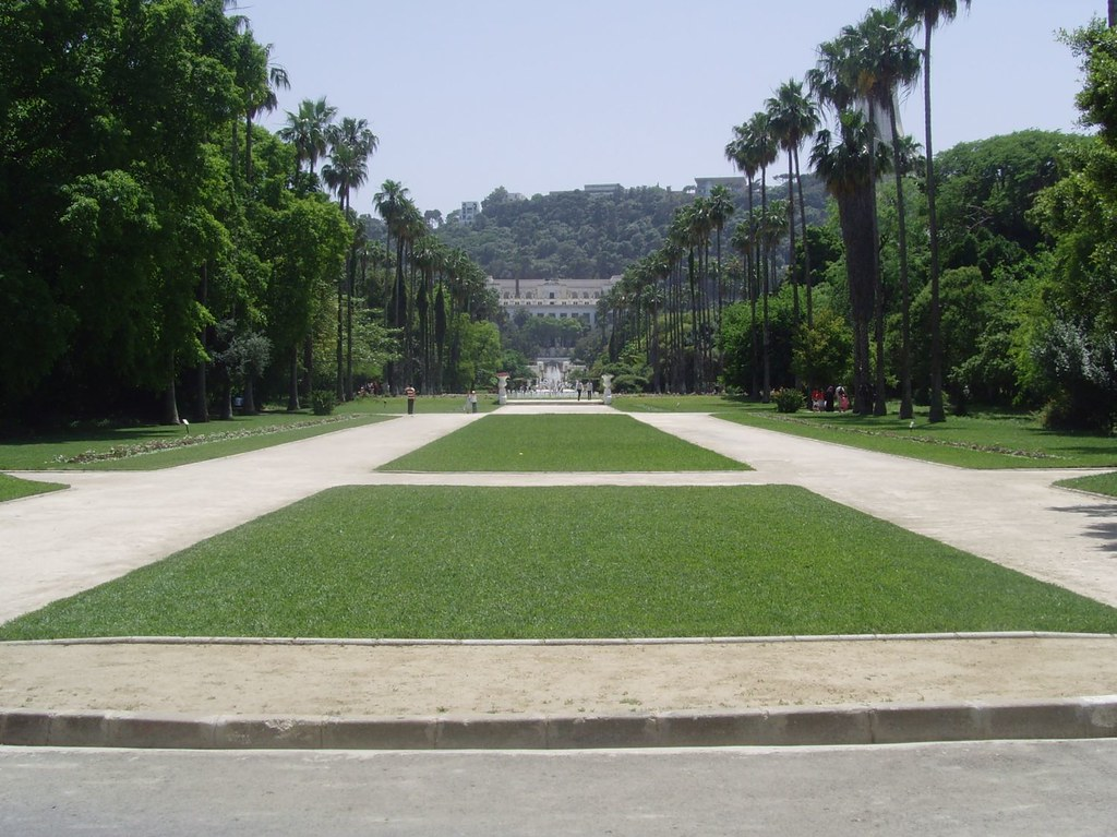 صور واحدة من اجمل حدائق العالم في