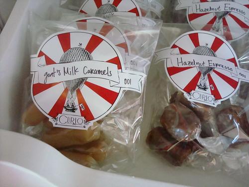 Goat's Milk Caramels, Curio Confections