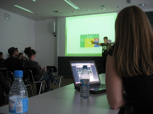 Ein Vortrag beim UXCamp