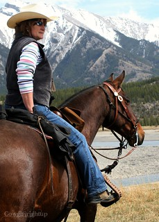 A Woman's place is in the saddle