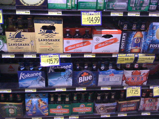 Canadian beer in North Dakota, Kokanee, Labatt Blue, Labatt Blue Light,