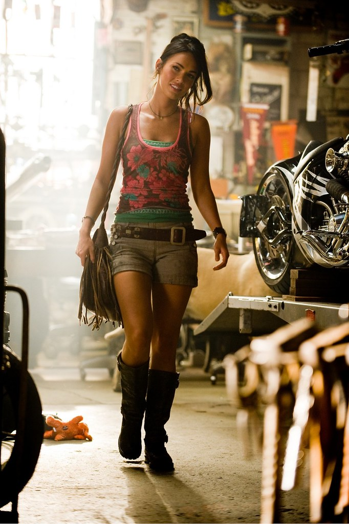 Transformers 2 Megan Fox motos