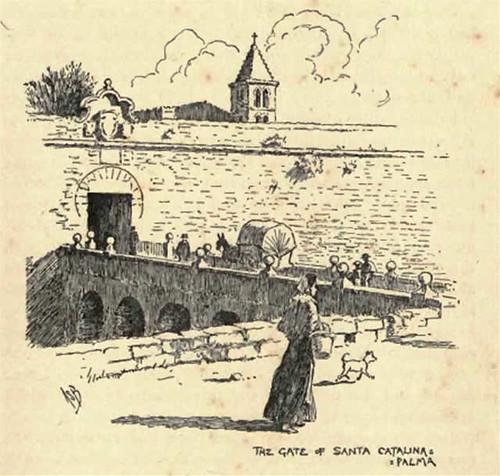 Puente de la Puerta de Santa Catalina de Palma