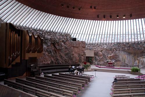 Felsenkirche Innenraum