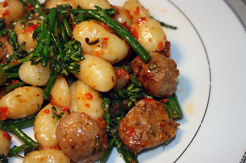 Gnocchi with Red Pepper Pesto 1