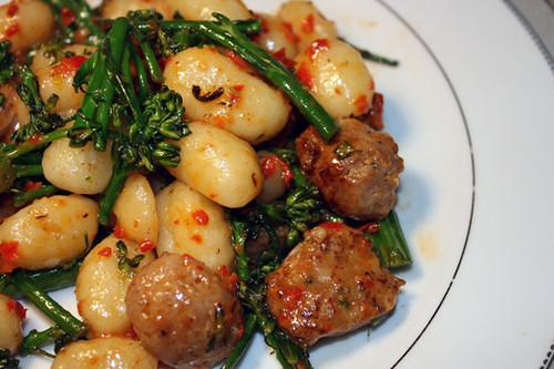 Gnocchi with Red Pepper Pesto 1