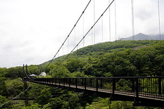 Nasu Jun 2009 (meguropolitan) Tags: bridge japan suspensionbridge hachiman nasu carlzeiss   yumoto canoneos5d  tochigiken   distagont35mmf28