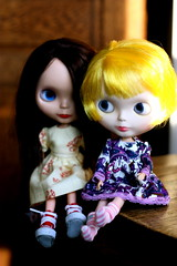 """Sadie: """"Isn't Psyche going to be mad that you're wearing her new dress?"""" 245/365"""