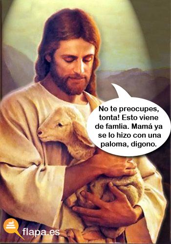 jesucristo zoofilia