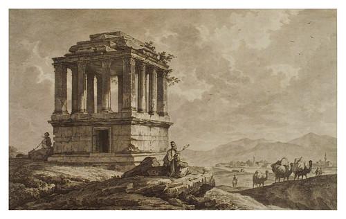 012- Tumba cerca de Mylasa-Voyage pittoresque de la Grèce 1782