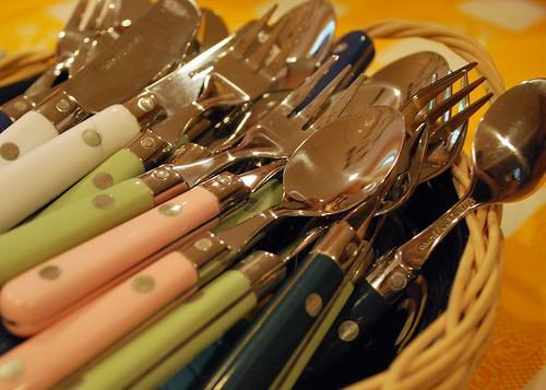mini silverware